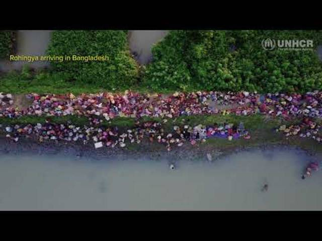 15'000 Flüchtlinge an der Grenze