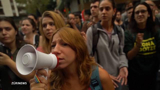 Katalonien steht still