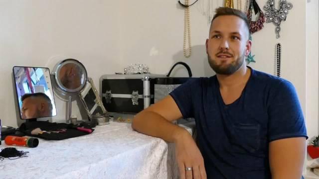 Jeffrey (27) aus Solothurn: «Am Drag Queen-Sein fasziniert mich vor allem die Verwandlung und das, was ich auf der Bühne darstelle»