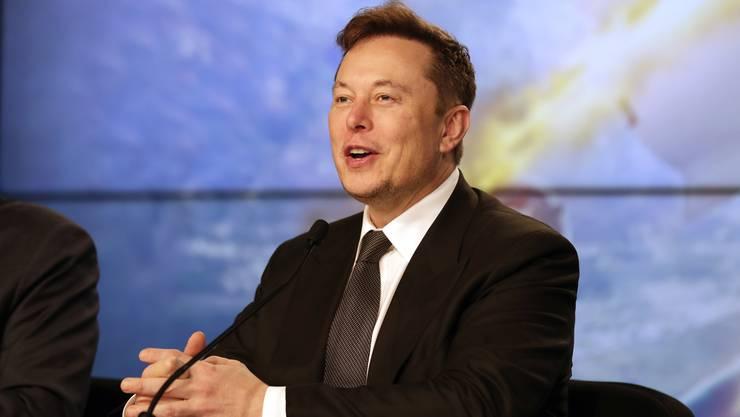 Kometenhafter Aufstieg an der Börse: Elon Musk, Gründer und Chef von Tesla.