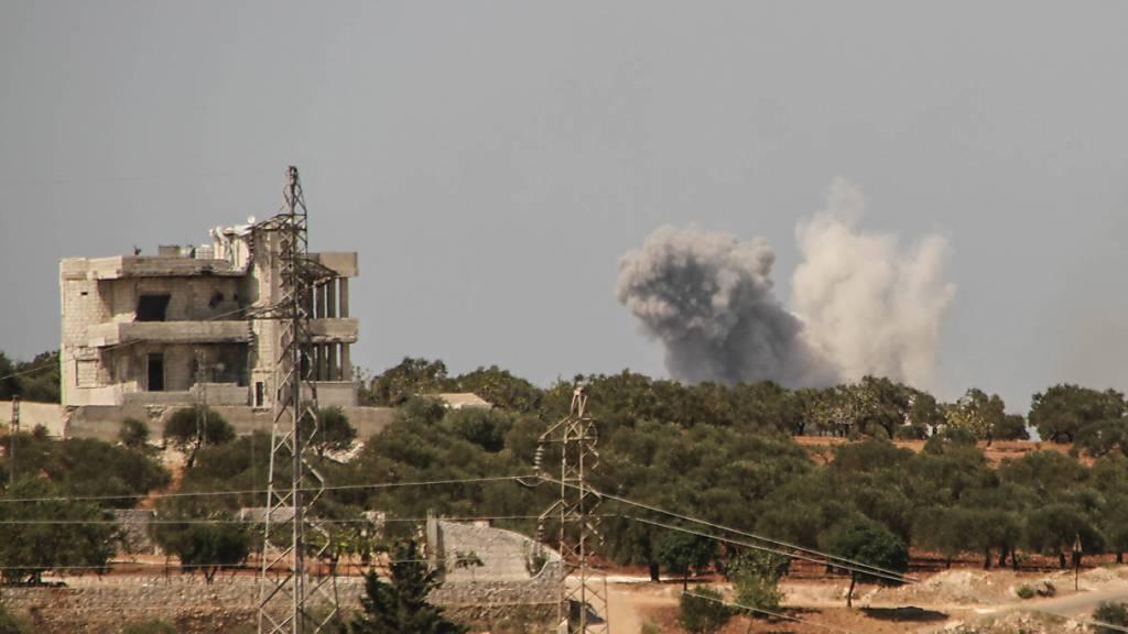 Viele Tote bei russischen Luftangriffen in Syrien