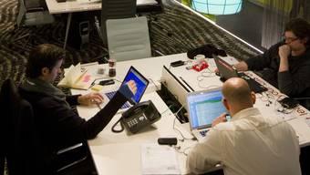 Informatiker sind begehrt, trotzdem sind viele von ihnen arbeitslos. Bild: Google Entwicklungszentrum in Zürich.