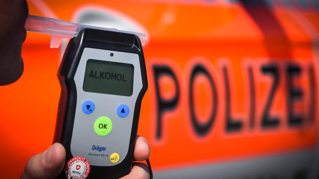 Fünf betrunkene Autofahrer müssen Führerschein abgeben