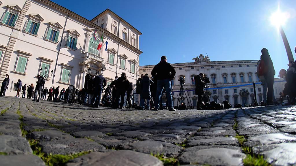Italien sucht neue Regierung - erste Gespräche beim Staatspräsidenten