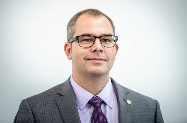 Urs Martin, Gesundheitsdirektor des Kantons Thurgau