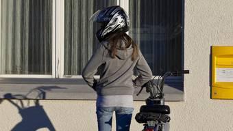 Seit Einführung der Helmpflicht werden deutlich weniger Töffs gestohlen. (Symbolbild)