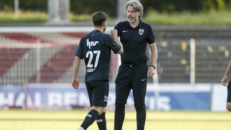 Der 19-jährige Ersan Hajdari kommt gegen Lausanne-Ouchy zu seinem Debüt als FCA-Profi.