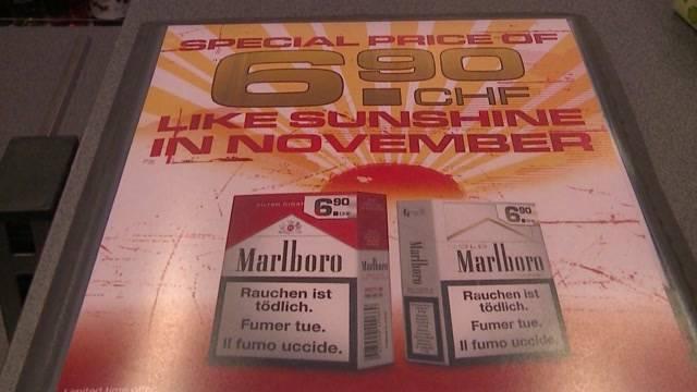 Tabakgesetz abgelehnt