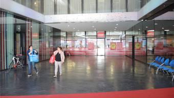 Heute ist Schluss: Denner geht – dafür wird das Fitnesscenter Baden grösser. AF.