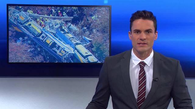 Mindestens neun Tote bei Zugunfall