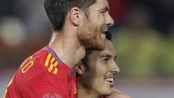 Spanien präsentierte sich in überragender Form