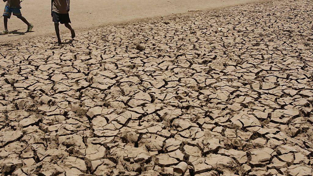 Ein rekordverdächtiger El Niño bedroht Afrika mit Dürre und Hungersnot. (Archivbild: Dürre in Nordwest-Kenia 2009)