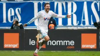 André-Pierre Gignac rettete Marseille mit dem 2:2 einen Punkt.