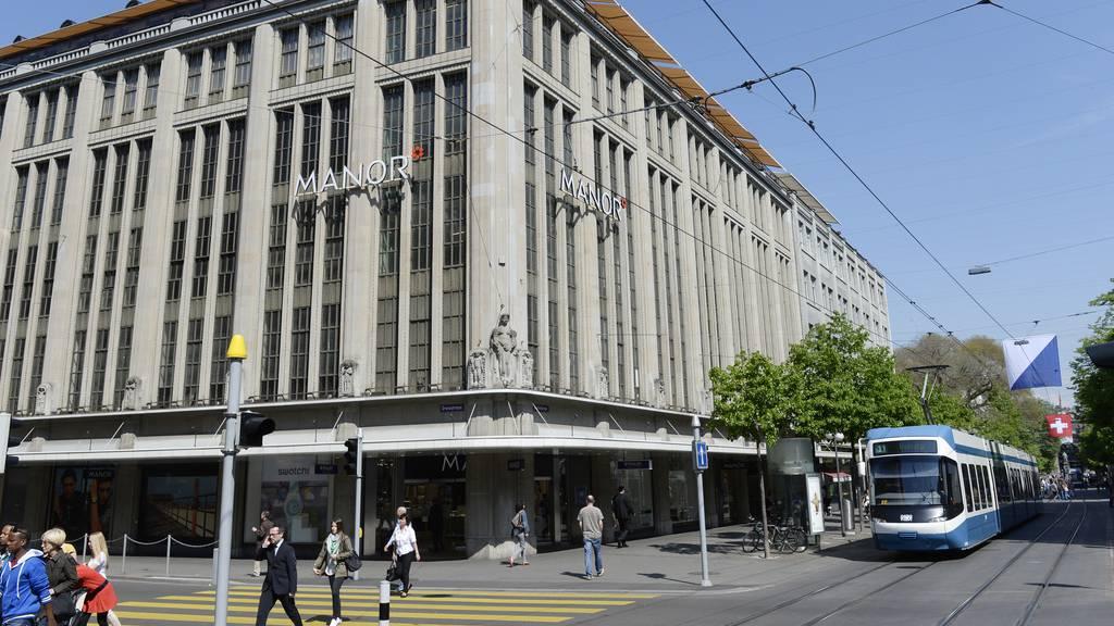 Manor schliesst Standort Zürich Bahnhofstrasse