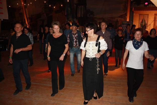 Line-Dance macht Spass