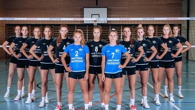 Die Badener Volleyballerinnen beissen sich an den noch ungeschlagenen Glarnerinnen die Zähne aus