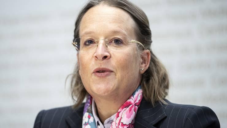 Michaela Schärer ist die neue Babs-Direktorin. Am Donnerstag stellte sie sich den Medien vor.