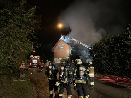 In Selzach brach ein Grossbrand aus.
