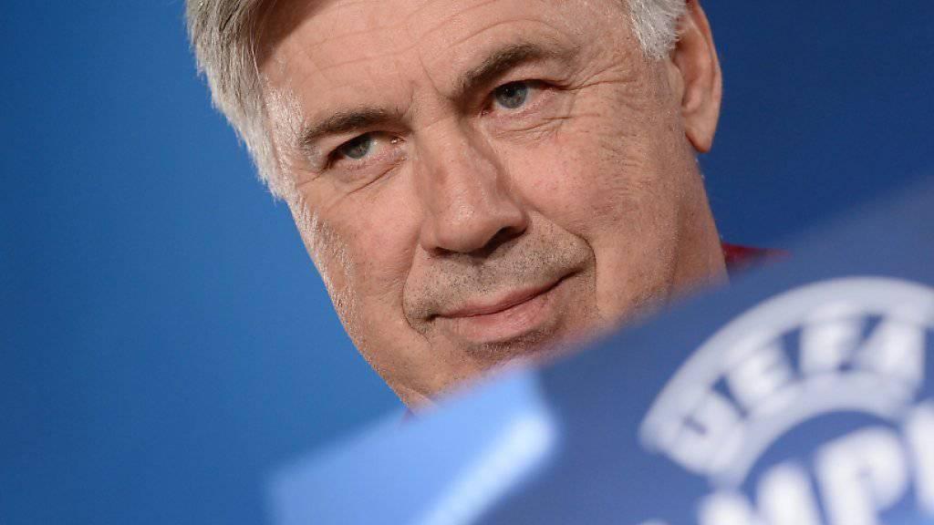 Carlo Ancelotti: Wie weit kommt er mit Bayern in der Champions League?