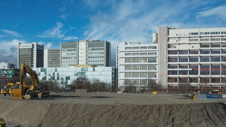 Auf dem Novartis-Campus sollen zwei weitere Gebäude gebaut werden.