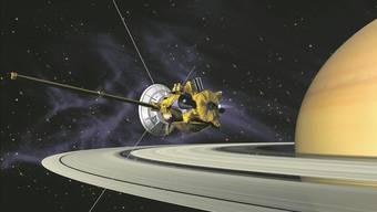 Die Raumsonde Cassini drang in Regionen um den Planeten Saturn vor, in denen kein Raumgefährt zuvor gewesen war.