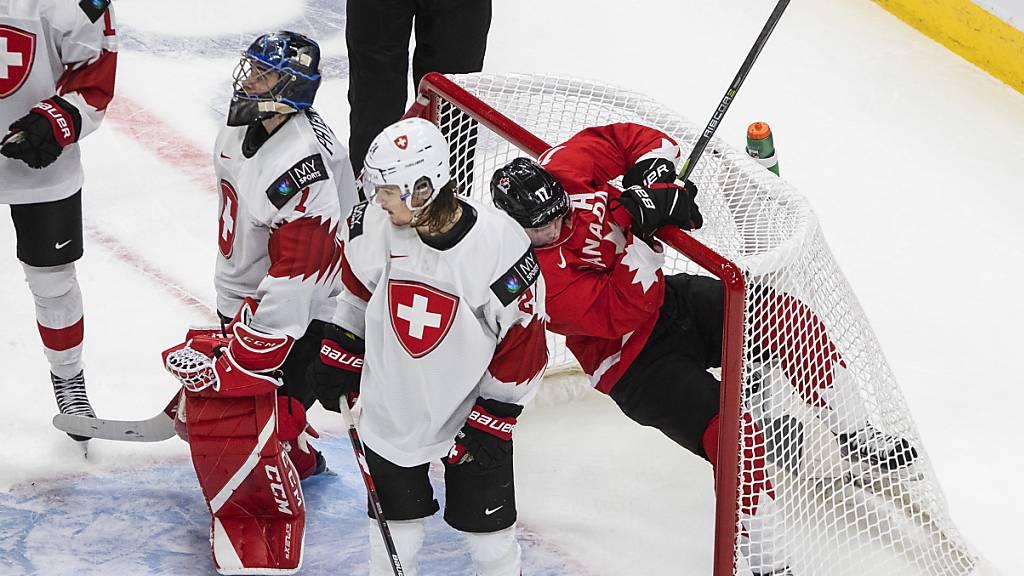 Schweizer erleiden gegen Kanada Kanterniederlage