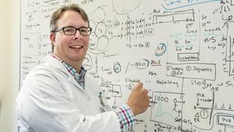 Adrian Egli: «Die Basler Mutation verwenden wir als eine Art Marker.»