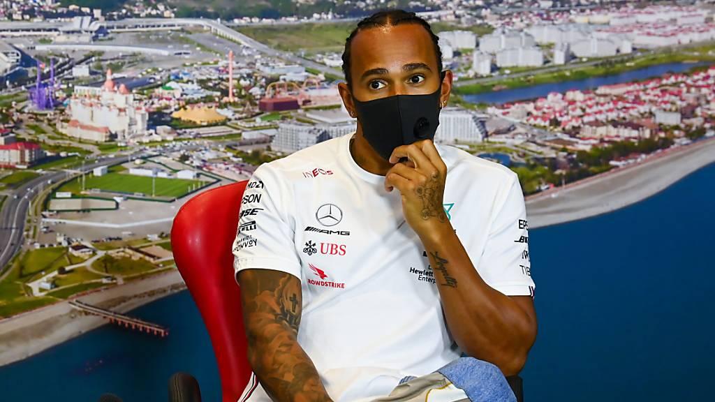 Lewis Hamilton und die Zahl 91