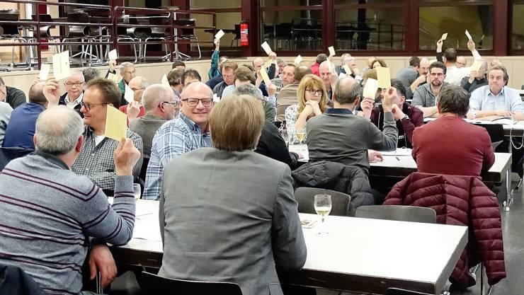 Versammlung des Bürgergemeinden und Waldeigentümer Verbands Solothurn-Lebern-Wasseramt