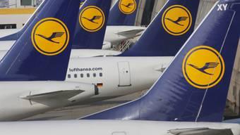 Wenn Flugzeuge nicht fliegen: Lufthansa-Streik in Frankfurt.