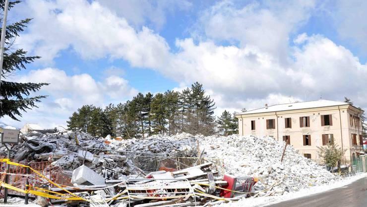 Ein Erdbeben in Mittelitalien hat am Mittwochvormittag im Bergdorf Amatrice zumindest Sachschäden verursacht.