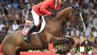 Romain Duguet reitet mit Quorida de Treho souverän
