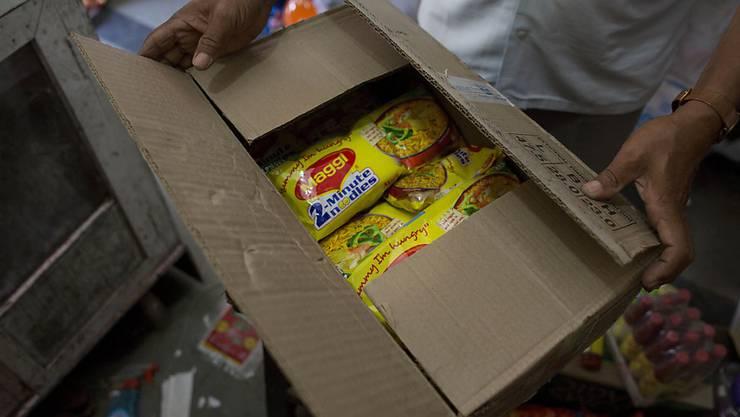 Ein indisches Gericht hat das Verkaufsverbot gegen Nestle-Nudeln in Indien aufgehoben. (Archiv)
