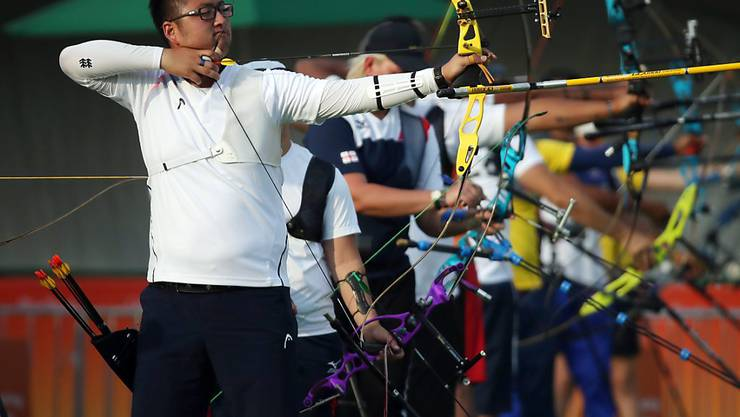 Kim Woo-Jin schoss zum Auftakt gleich einen Weltrekord