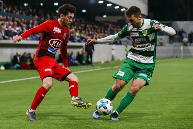 Damit lässt der FC Aarau im Kampf um den Aufstieg zwei wichtige Punkte liegen.
