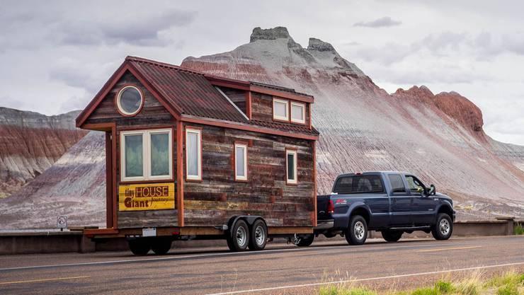 Ein «Tiny House» ist klein und häufig mobil.