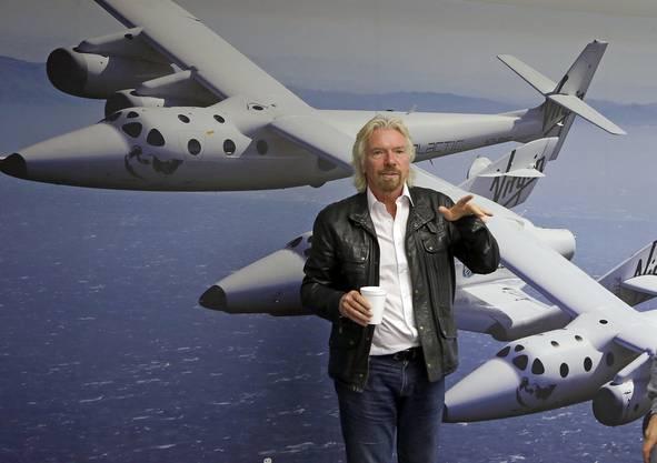 Hinter dem Projekt steht Virgin-Gründer Richard-Branson