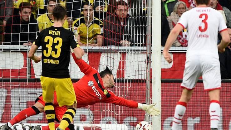 Torhüter Roman Bürki durchlebte Hochs und Tiefs bei der Niederlage des BVB in Köln