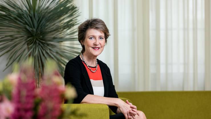 Bundespräsidentin Simonetta Sommaruga reist nächste Woche zu verschiedenen Gesprächen in die Ukraine.