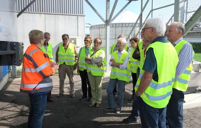 Besichtigung und Führung bei Biogas AG