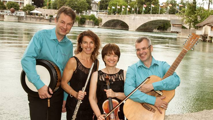 Das Musikensemble Caorán spielt irisch-schottische Musik. ZVG