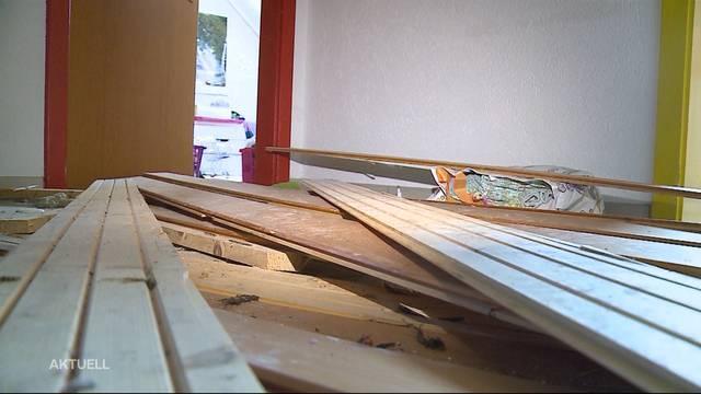 Blitzeinschlag: Haus in Ittenthal wird zerstört