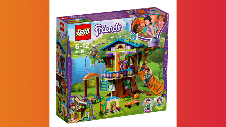 Wunsch-Nr. 77, Anastasija, 6 Jahre, Lego Friends Mias Baumhaus, z.B. bei Manor, CHF 37.90
