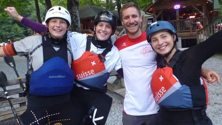 Das erfolgreiche Schweizer Frauenteam an der U23-WM in den USA