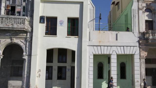 Haus mit Mietzimmern für Touristen in Havanna (Symbolbild)
