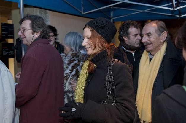 Xavier Koller, Regisseur von «De Dällebach Kari» trifft ein