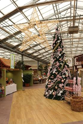 Der Christkindmarkt im Gartencenter Zulauf in Schinznach bietet allerlei Weihnachtliches.