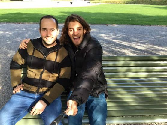 Sebastian Martinez ist für die Liebe ausgewandert