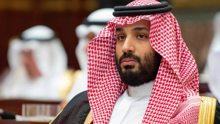 Medienberichten zufolge arbeitet Saudi-Arabien an der Herstellung ballistischer Raketen, möglicherweise mit Hilfe Chinas. Im Bild: der saudische Kronprinz Mohammed bin Salman. (Archivbild)