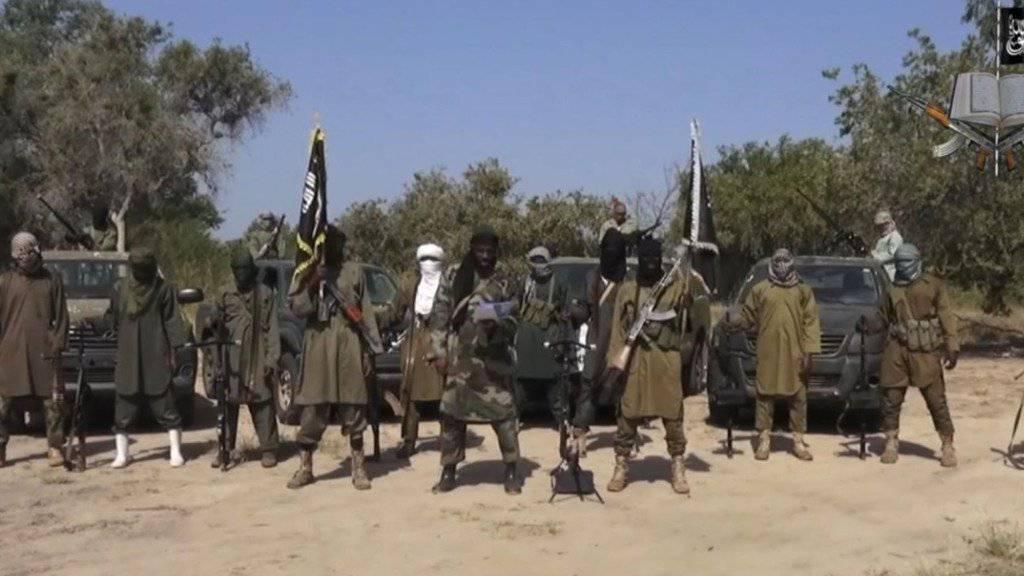 Geben sich nach jüngsten Rückschlägen kämpferisch: Anhänger von  Boko Haram. (Archivbild)